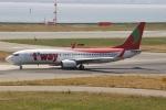 uhfxさんが、関西国際空港で撮影したティーウェイ航空 737-86Nの航空フォト(飛行機 写真・画像)