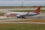 uhfxさんが、関西国際空港で撮影したチェジュ航空 737-8ASの航空フォト(飛行機 写真・画像)