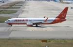 uhfxさんが、関西国際空港で撮影したチェジュ航空 737-82Rの航空フォト(飛行機 写真・画像)