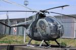 多楽さんが、茨城空港で撮影した陸上自衛隊 OH-6Jの航空フォト(写真)