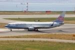 uhfxさんが、関西国際空港で撮影したチャイナエアライン 737-809の航空フォト(飛行機 写真・画像)