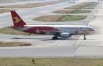 uhfxさんが、関西国際空港で撮影した天津航空 A320-214の航空フォト(飛行機 写真・画像)