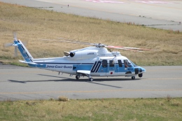 uhfxさんが、関西国際空港で撮影した海上保安庁 S-76Dの航空フォト(飛行機 写真・画像)