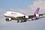 LEGACY-747さんが、成田国際空港で撮影したタイ国際航空 A380-841の航空フォト(写真)