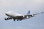 LEGACY-747さんが、成田国際空港で撮影したユナイテッド航空 747-422の航空フォト(飛行機 写真・画像)