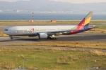 uhfxさんが、関西国際空港で撮影したアシアナ航空 777-28E/ERの航空フォト(飛行機 写真・画像)