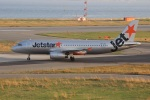 uhfxさんが、関西国際空港で撮影したジェットスター・アジア A320-232の航空フォト(飛行機 写真・画像)