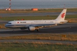 uhfxさんが、関西国際空港で撮影した中国国際航空 A320-214の航空フォト(飛行機 写真・画像)