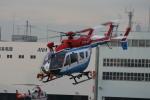 sarangさんが、東京ヘリポートで撮影した川崎市消防航空隊 BK117C-2の航空フォト(写真)
