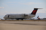 DREAMWINGさんが、グランドフォークス国際空港で撮影したエクスプレスジェット・エアラインズ CL-600-2B19 Regional Jet CRJ-200ERの航空フォト(写真)