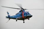 ヘリオスさんが、東京ヘリポートで撮影した山形県警察 A109E Powerの航空フォト(写真)