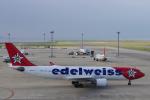 yabyanさんが、中部国際空港で撮影したエーデルワイス航空 A330-223の航空フォト(写真)