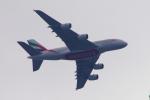 yabyanさんが、London City で撮影したエミレーツ航空 A380-861の航空フォト(飛行機 写真・画像)