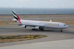 yabyanさんが、中部国際空港で撮影したエミレーツ航空 A340-313Xの航空フォト(飛行機 写真・画像)