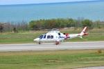 BELL602さんが、新潟空港で撮影した静岡エアコミュータ AW109SP GrandNewの航空フォト(写真)