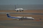 rjnsphotoclub-No.07さんが、中部国際空港で撮影したANAウイングス DHC-8-402Q Dash 8の航空フォト(写真)