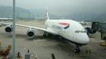 あおちゃんさんが、香港国際空港で撮影したブリティッシュ・エアウェイズ A380-841の航空フォト(飛行機 写真・画像)