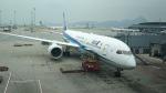 あおちゃんさんが、香港国際空港で撮影した全日空 787-9の航空フォト(飛行機 写真・画像)