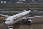 おみずさんが、福岡空港で撮影したシンガポール航空 A330-343Xの航空フォト(写真)