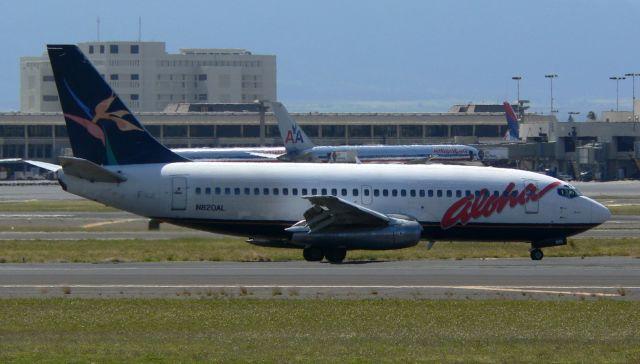cathay451さんが、ダニエル・K・イノウエ国際空港で撮影したアロハ航空 737-230/Advの航空フォト(飛行機 写真・画像)