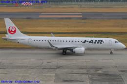 Chofu Spotter Ariaさんが、仙台空港で撮影したジェイ・エア ERJ-190-100(ERJ-190STD)の航空フォト(写真)