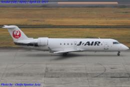 Chofu Spotter Ariaさんが、仙台空港で撮影したジェイ・エア CL-600-2B19 Regional Jet CRJ-200ERの航空フォト(飛行機 写真・画像)