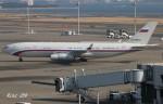RINA-200さんが、羽田空港で撮影したロシア連邦保安庁 Il-96-400VPUの航空フォト(写真)