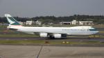 sakuraさんが、成田国際空港で撮影したキャセイパシフィック航空 747-867F/SCDの航空フォト(写真)