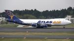 sakuraさんが、成田国際空港で撮影したアトラス航空 747-47UF/SCDの航空フォト(写真)