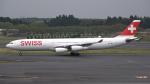 sakuraさんが、成田国際空港で撮影したスイスインターナショナルエアラインズ A340-313Xの航空フォト(写真)