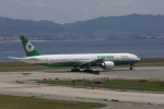 meijeanさんが、関西国際空港で撮影したエバー航空 777-35E/ERの航空フォト(写真)