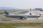 meijeanさんが、関西国際空港で撮影したキャセイパシフィック航空 777-367の航空フォト(写真)