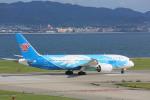meijeanさんが、関西国際空港で撮影した中国南方航空 787-8 Dreamlinerの航空フォト(写真)
