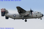 Chofu Spotter Ariaさんが、厚木飛行場で撮影したアメリカ海軍 C-2A Greyhoundの航空フォト(写真)