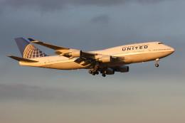 こすけさんが、成田国際空港で撮影したユナイテッド航空 747-422の航空フォト(飛行機 写真・画像)