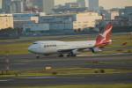 カメラマンあきさんが、羽田空港で撮影したカンタス航空 747-438の航空フォト(写真)