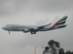 kakukiyoB77Wさんが、香港国際空港で撮影したエミレーツ航空 747-4HAF/ER/SCDの航空フォト(写真)
