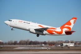 KAZ_YYZさんが、モントリオール・ピエール・エリオット・トルドー国際空港で撮影したエア・イヌイット 737-2Q2C/Advの航空フォト(飛行機 写真・画像)