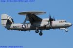 Chofu Spotter Ariaさんが、厚木飛行場で撮影したアメリカ海軍 E-2D Advanced Hawkeyeの航空フォト(飛行機 写真・画像)