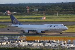meijeanさんが、成田国際空港で撮影したユナイテッド航空 747-422の航空フォト(飛行機 写真・画像)