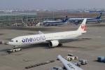 ハピネスさんが、羽田空港で撮影した日本航空 777-346/ERの航空フォト(飛行機 写真・画像)