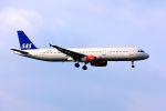 まいけるさんが、ロンドン・ヒースロー空港で撮影したスカンジナビア航空 A321-232の航空フォト(写真)