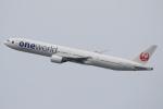なぁちゃんさんが、伊丹空港で撮影した日本航空 777-346の航空フォト(写真)