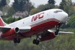 romyさんが、ボーイングフィールドで撮影したノーザン・エア・カーゴ 737-232/Adv(F)の航空フォト(写真)