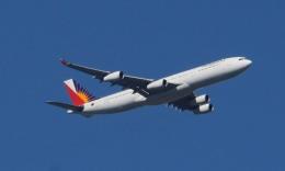 Lovely-Akiさんが、シドニー国際空港で撮影したフィリピン航空 A340-313の航空フォト(写真)