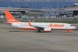 なぁちゃんさんが、関西国際空港で撮影したチェジュ航空 737-8ASの航空フォト(飛行機 写真・画像)