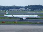 鷹71さんが、成田国際空港で撮影したエバー航空 A321-211の航空フォト(写真)