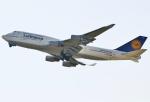 あしゅーさんが、関西国際空港で撮影したルフトハンザドイツ航空 747-430の航空フォト(飛行機 写真・画像)