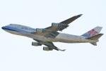 あしゅーさんが、関西国際空港で撮影したチャイナエアライン 747-409F/SCDの航空フォト(飛行機 写真・画像)