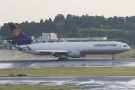 まっくうさんが、成田国際空港で撮影したルフトハンザ・カーゴ MD-11Fの航空フォト(写真)
